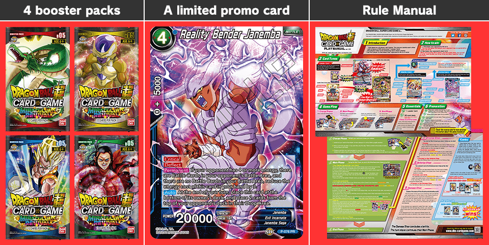 Miraculous revival special pack set