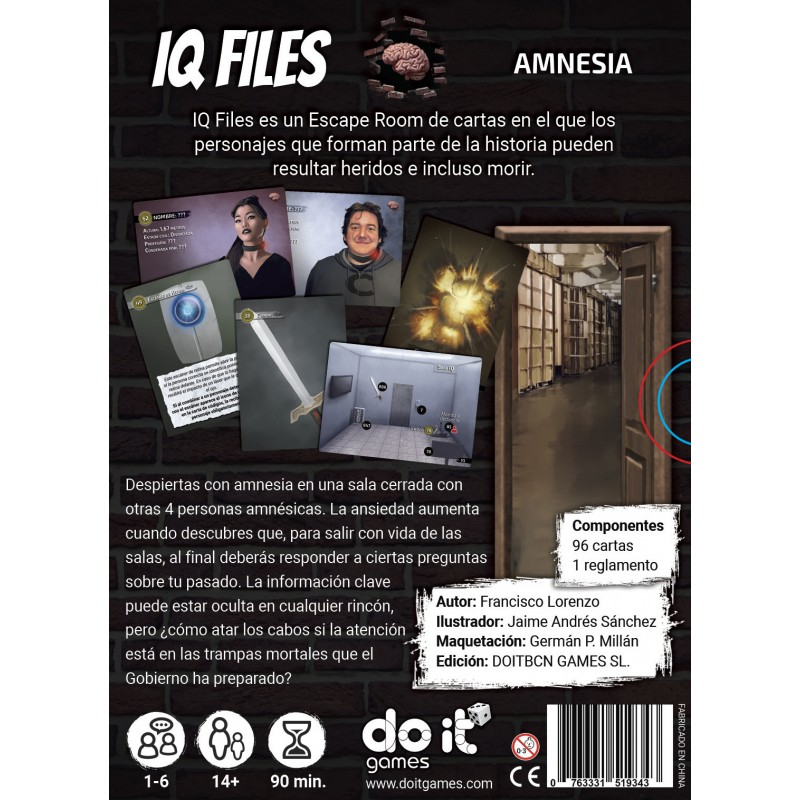 IQ Files - Amnesia