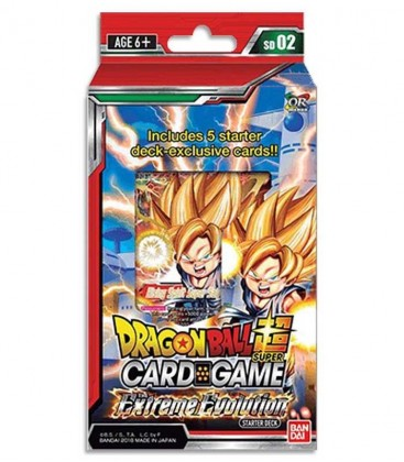 Dragon Ball Super: Extreme Evolution Starter Deck