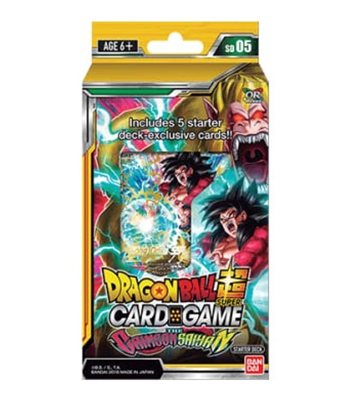 Dragon Ball Super: The Crimson Saiyan Starter Deck