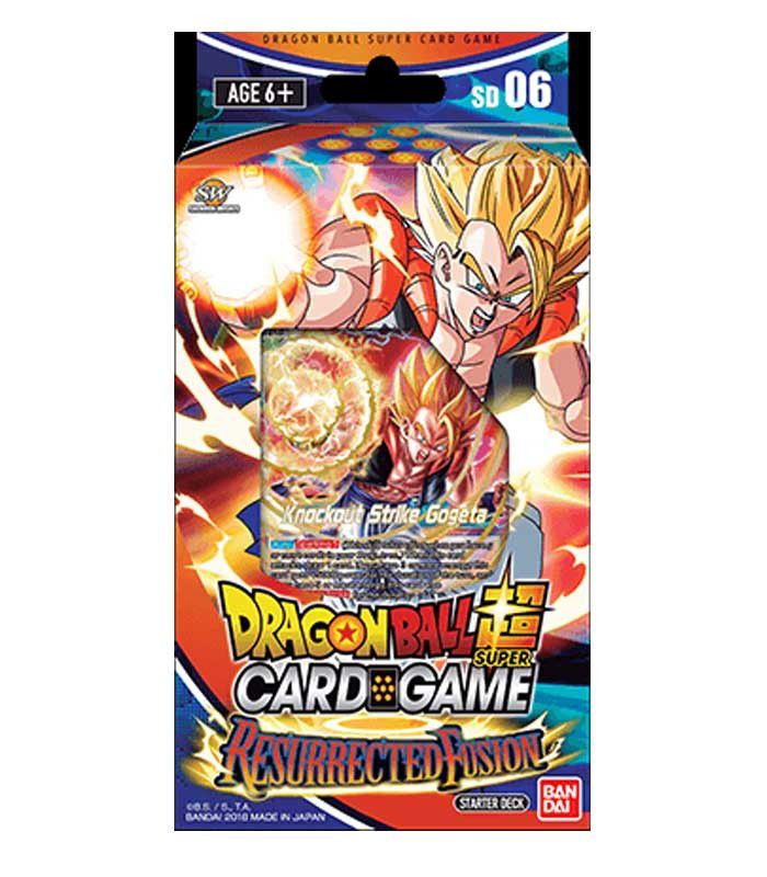 Dragon Ball Super: Resurrected Fusion Starter Deck