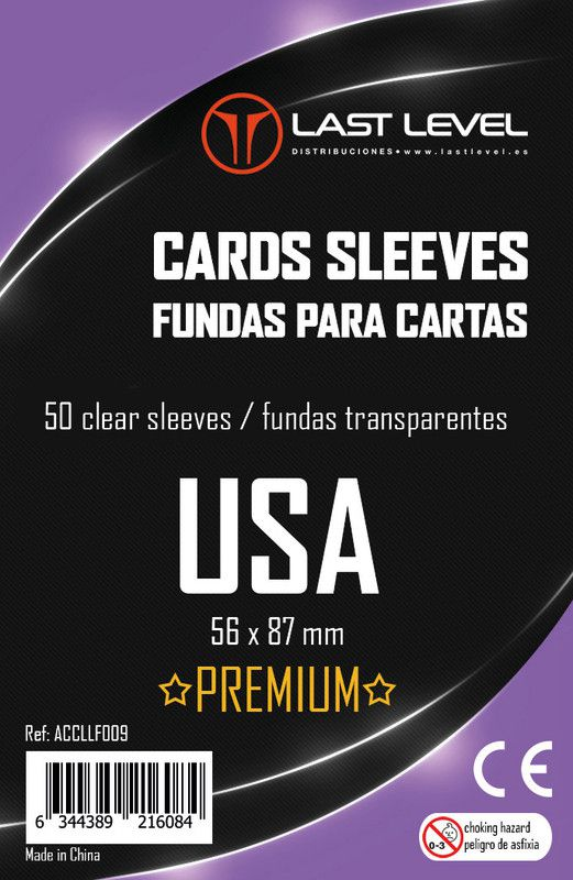 Fundas Last Level USA Premium (56x87)