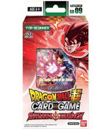 Dragon Ball Super: Saiyan Legacy Starter Deck